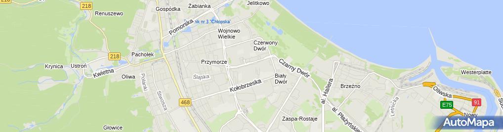 Zdjęcie satelitarne Elektryk Gdańsk usługi elektryczne