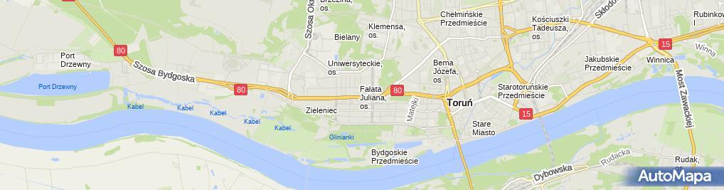 Zdjęcie satelitarne Firma Volt Wiesław Kamiński