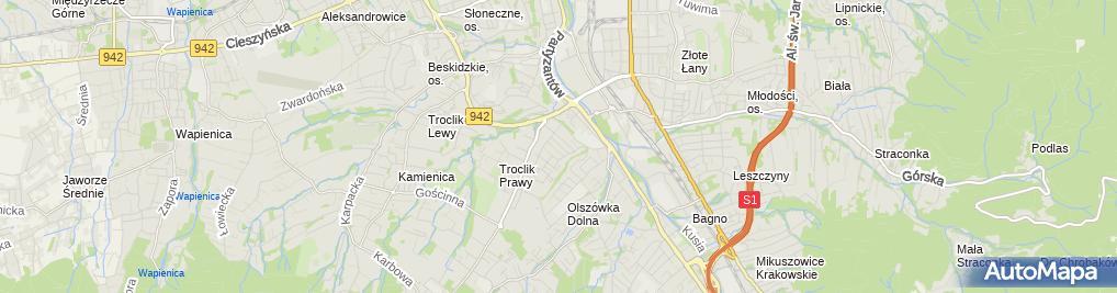 Zdjęcie satelitarne neoinstal Jerzy Zarawski