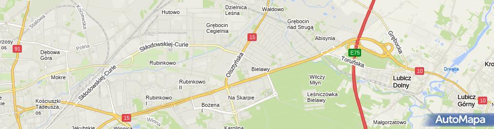 Zdjęcie satelitarne Euro-Apteka - Apteka