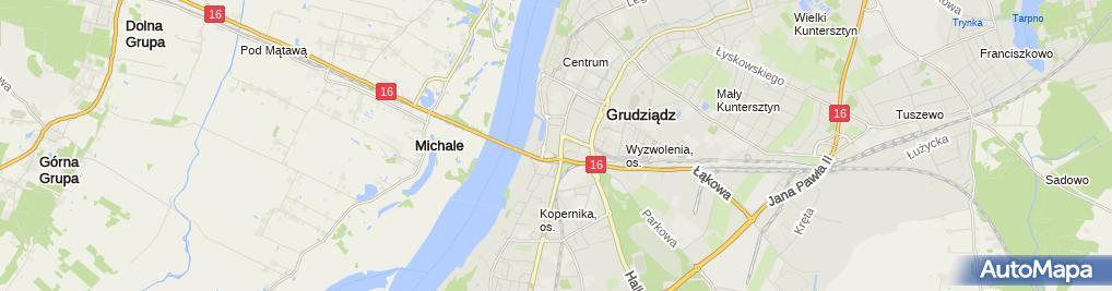 Zdjęcie satelitarne Euronet - Wpłatomat