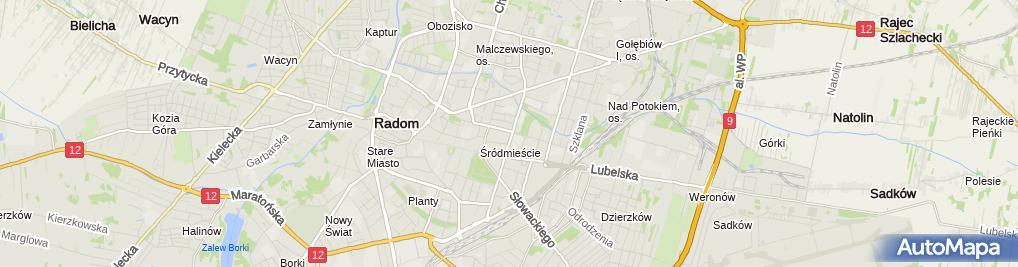 Zdjęcie satelitarne Fast Food - Bar