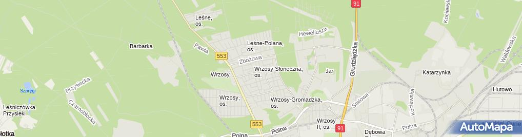 Zdjęcie satelitarne Kangaroo