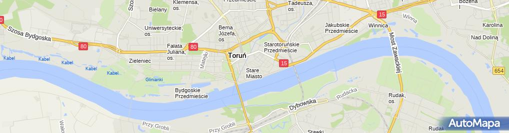 Zdjęcie satelitarne Folkstar - Sklep