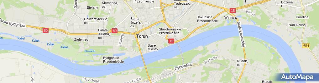 Zdjęcie satelitarne Politowski Ryszard Przedsiębiorstwo Firma