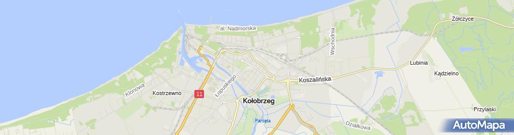 Zdjęcie satelitarne Sklep Wielobranżowy Roma Zofia Kazimierz Bołdys