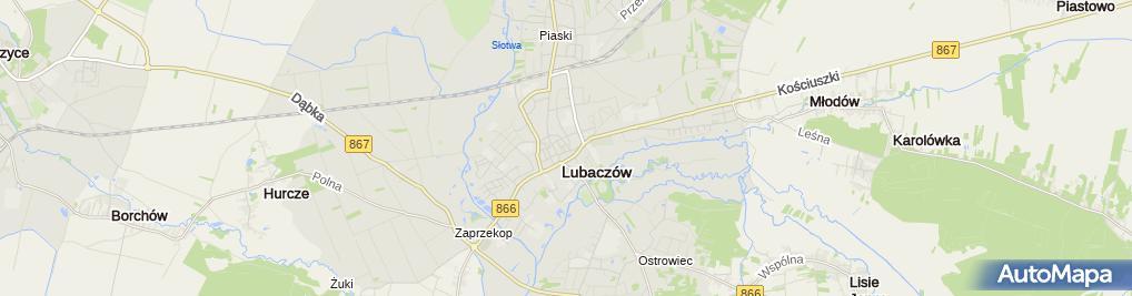Zdjęcie satelitarne Agnieszka Żurawel-Sar Salon Fryzjerski Gaga