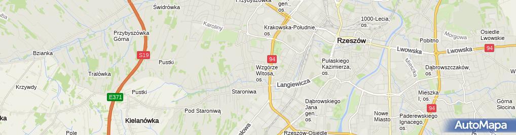 Zdjęcie satelitarne Fabryka Stylu Janowska VISION