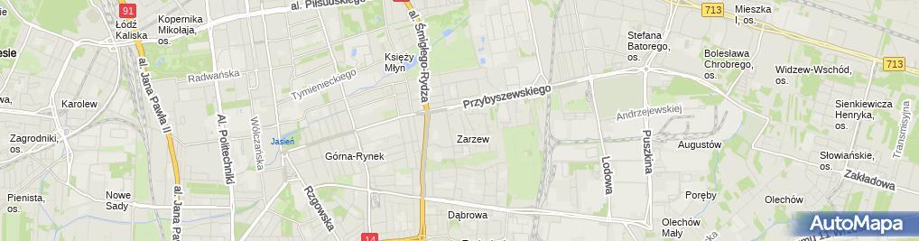 Zdjęcie satelitarne Fryzjerstwo Agnieszka Jędrasiak