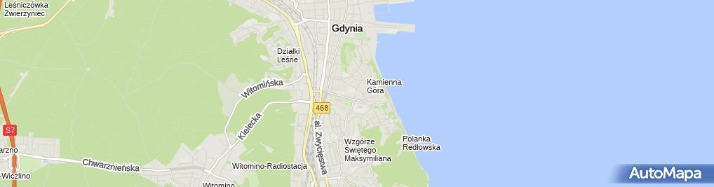 Zdjęcie satelitarne Fryzjerstwo Męskie i Damskie i Kalotechnika