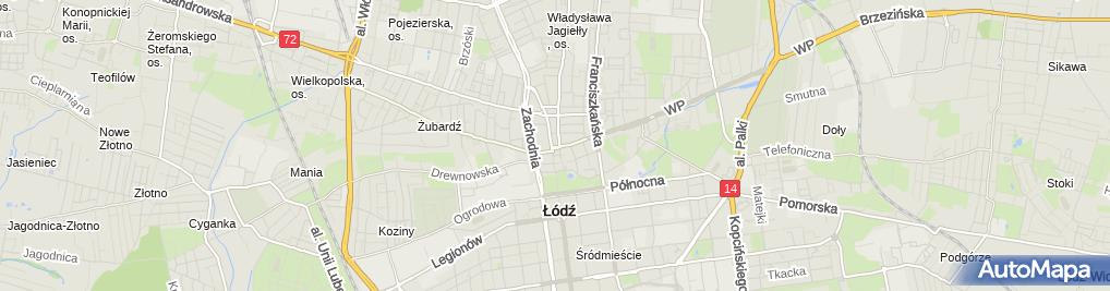 Zdjęcie satelitarne Gabinet Kosmetyczno Fryzjerski Le Duo Małgorzata Kujdowicz Katusza