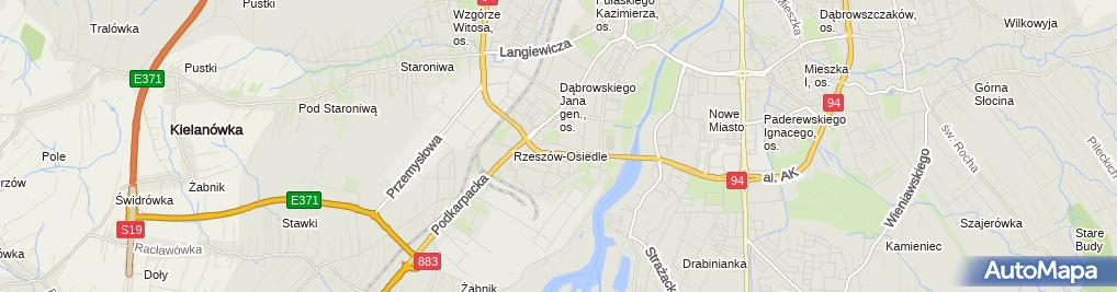Zdjęcie satelitarne Gabinet Urody Edyta Piekuś