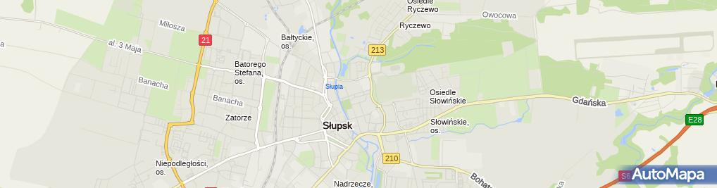 Zdjęcie satelitarne Górecka Krystyna Zakład Fryzjerski