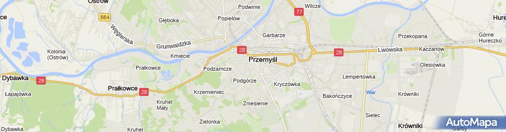 Zdjęcie satelitarne Gracja