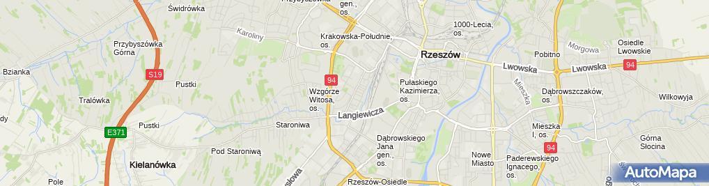 Zdjęcie satelitarne Pracownia Urody Magdalena Partyka