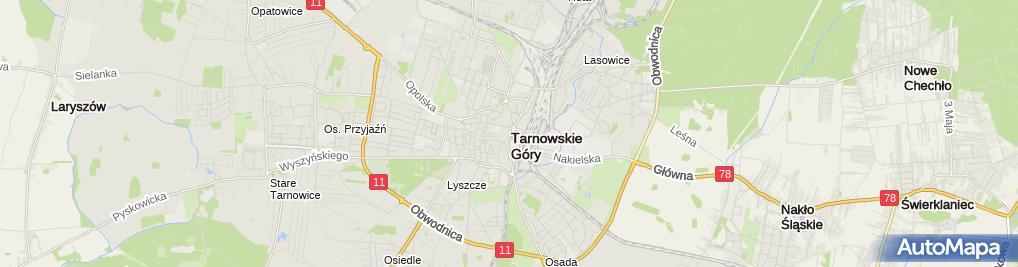 Zdjęcie satelitarne Salon Fryzjerski Agarda