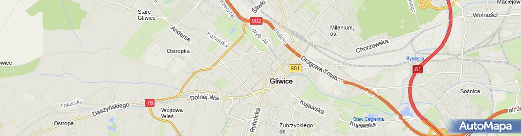 Salon Fryzjerski Damsko Męski Raciborska 2 Gliwice 44 100
