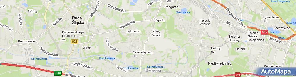 Zdjęcie satelitarne Salon Fryzjerski FINEZJA