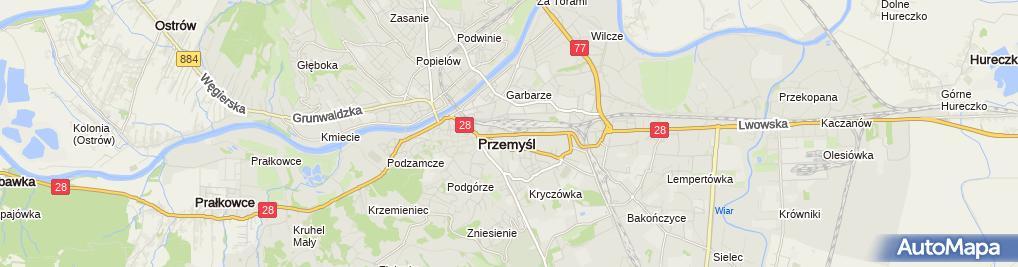 Zdjęcie satelitarne Salon Fryzjerski Nina
