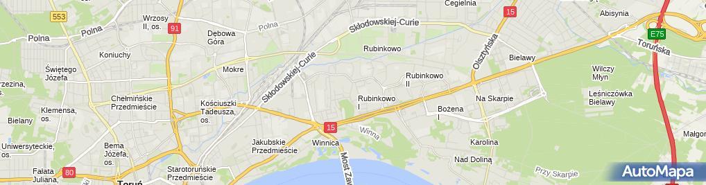 Zdjęcie satelitarne Salon Fryzjerski