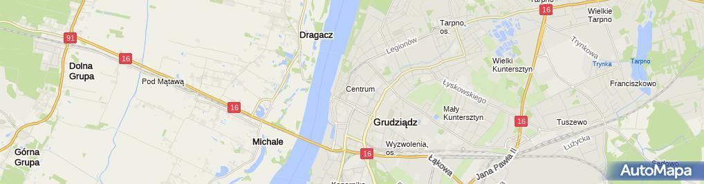 Zdjęcie satelitarne Salon Fryzjersko Kosmetyczny Figaro