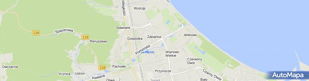 Zdjęcie satelitarne Salon Fryzjersko Kosmetyczny Salavi