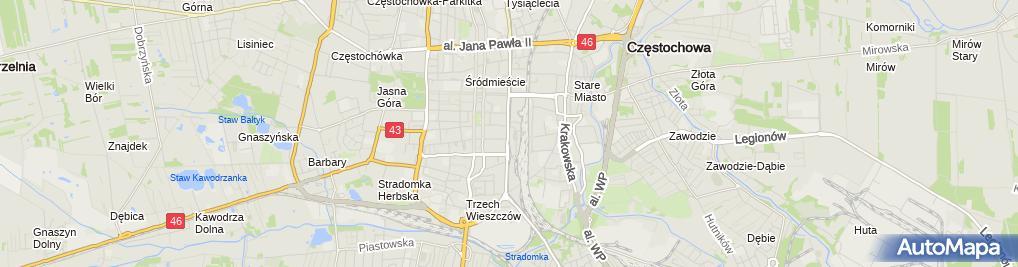 Zdjęcie satelitarne Salonik Fryzjersko Kosmetyczny Zuzanna Zuzanna Wolniak