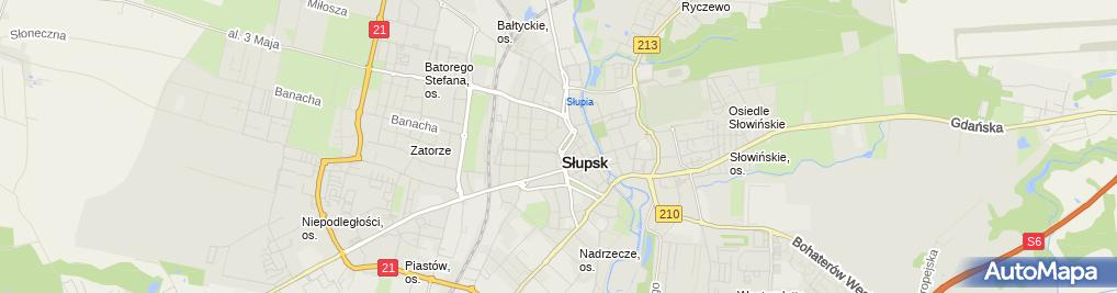 Zdjęcie satelitarne Studio Fryzjersko-Kosmetyczne Kleo Anna Żabińska