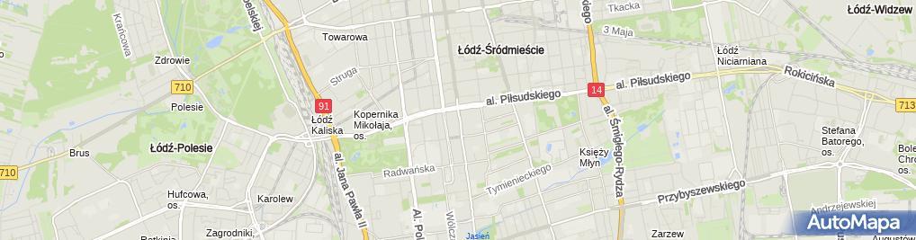 Zdjęcie satelitarne Zakład Fryzjerski Czesław