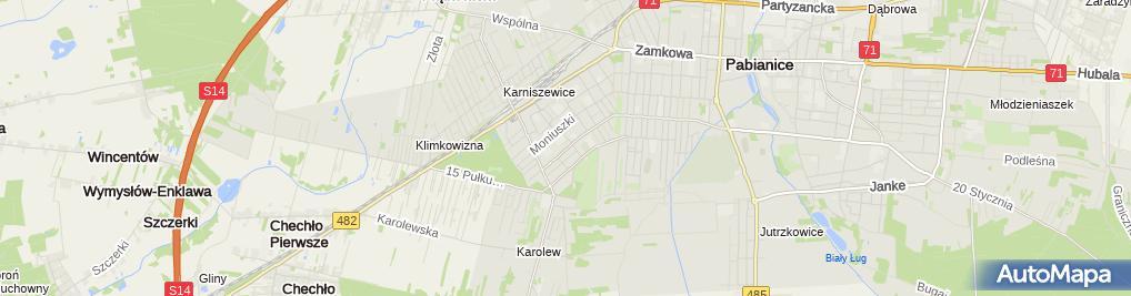 Zakład Fryzjerski Damsko Męski Wileńska 47 Pabianice 95 200