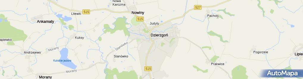 Zakład Fryzjerski Damsko Męski Odrodzenia 3 Dzierzgoń 82 440