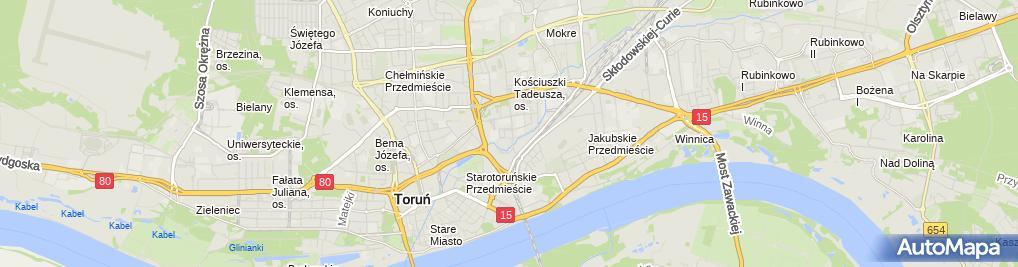 Zakład Fryzjerski Ul Wojska Polskiego 4345 Toruń 87 100