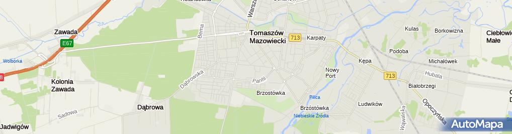 Zakład Fryzjerski Graniczna 3739 Tomaszów Mazowiecki 97 200