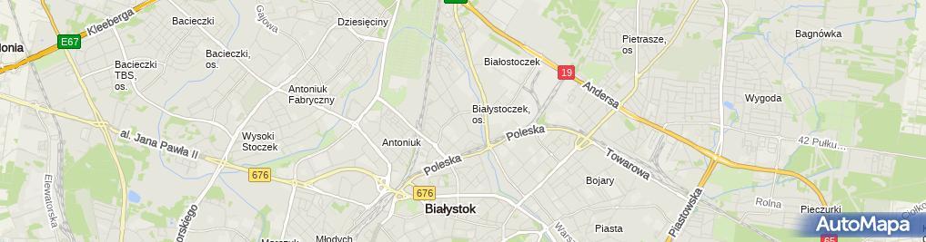 Zakład Fryzjerski Białostoczek 21 Białystok 15 859 Fryzjer Nip