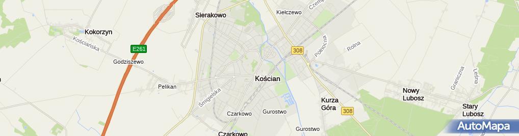 Zakład Fryzjerski Aleja Tadeusza Kościuszki 15 Kościan 64 000
