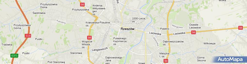 Zdjęcie satelitarne SIMP - Oddział w Rzeszowie