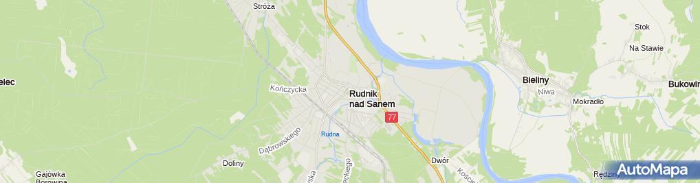 Zdjęcie satelitarne Stowarzyszenie im.Jana Gietki