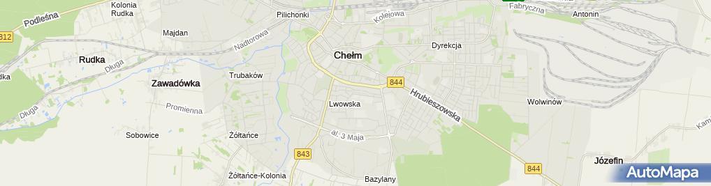 Zdjęcie satelitarne Stowarzyszenie Rozwój Gmin i Powiatów