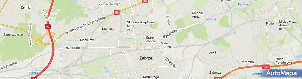 Zdjęcie satelitarne Dermetis Spółka Cywilna K. Gruszczyńska & K. Mikuła