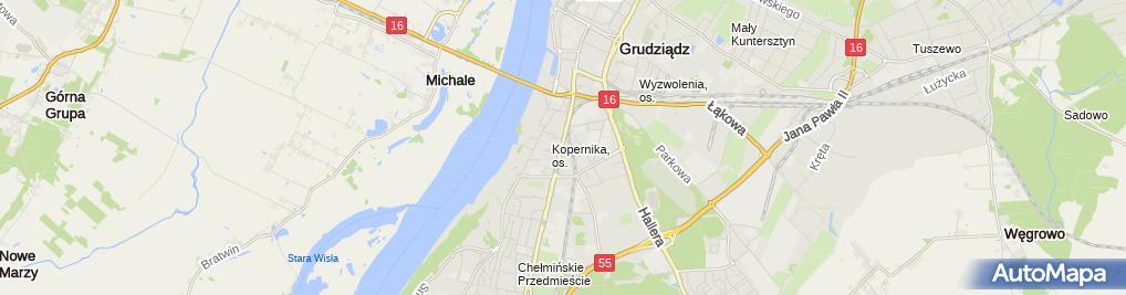Zdjęcie satelitarne Gabinet kosmetyczny BelTocco.pl