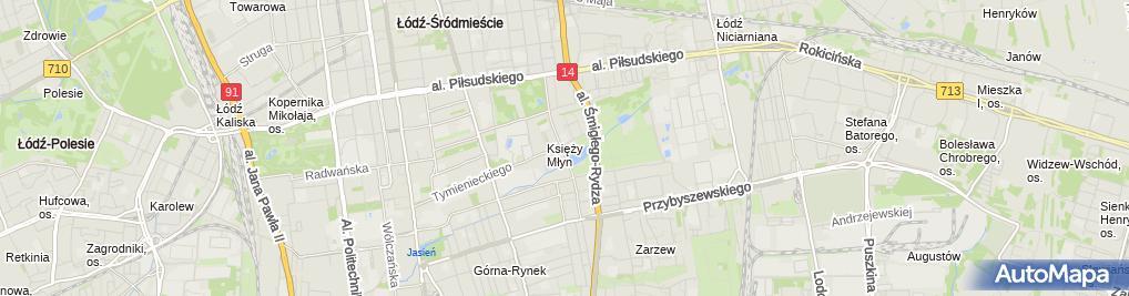 Zdjęcie satelitarne Muzeum Pałac Herbsta