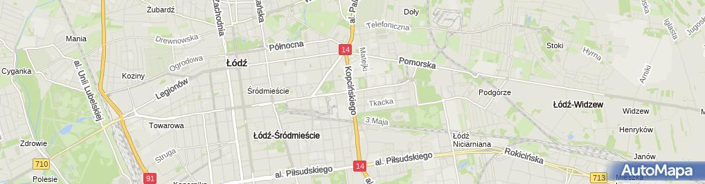 Zdjęcie satelitarne Garmond Press - Kiosk