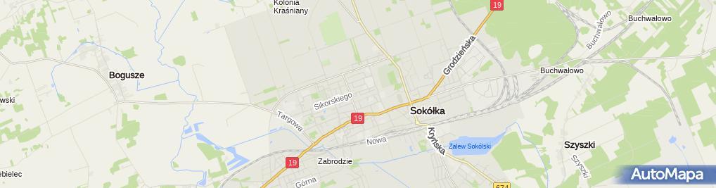 Zdjęcie satelitarne Kor-Gaz. PHU Sprzedaż gazu Korecki W