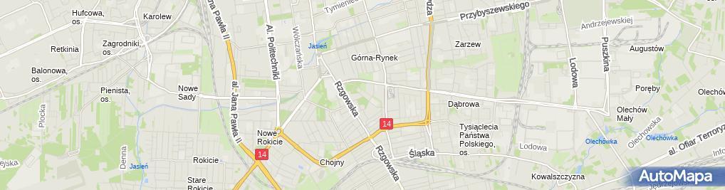 Zdjęcie satelitarne Biuro ogłoszeń
