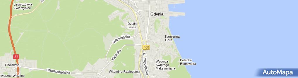 Zdjęcie satelitarne Ginekolog