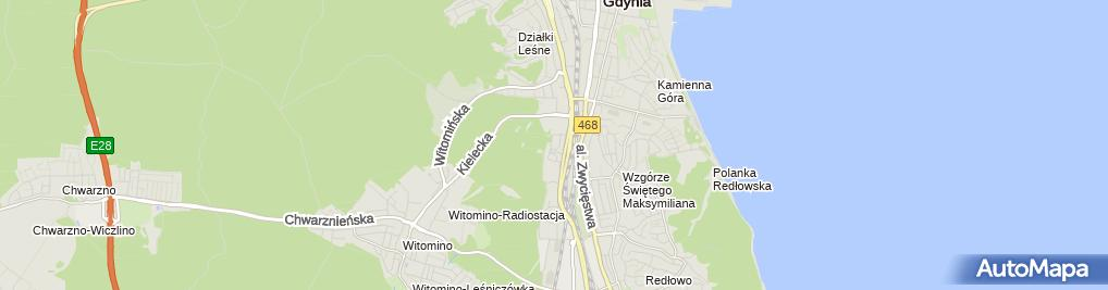 Zdjęcie satelitarne gino rossi - Sklep