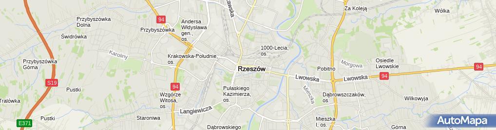 Zdjęcie satelitarne Serwis Telefonów Słavo
