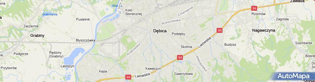 Zdjęcie satelitarne Hebe - Drogeria