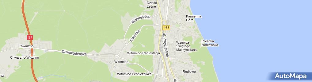 Zdjęcie satelitarne Home&You Taste