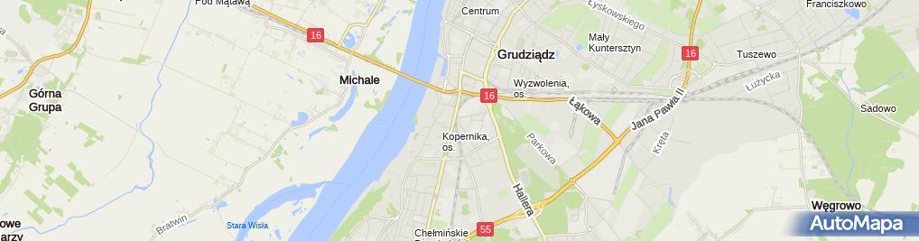 Zdjęcie satelitarne 'HOTEL KOWALKOWSKI' ***